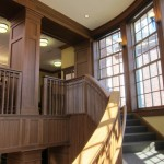 Concord Fowler Library Staircase and Columns